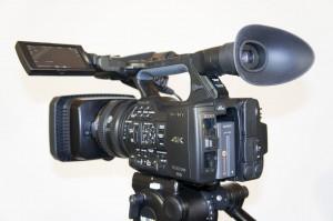 Sony PXW-Z100 4K/HD Camcorder.